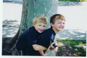 My favorite picture of the boys. 2004.