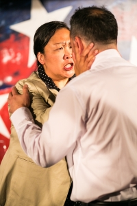 Mutt: Let's All Talk About Race! by Christopher Chen at Impact Theatre. Photo by Cheshire Isaacs.