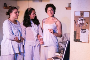 What Every Girl Should Know by Monica Byrne at Impact Theatre. Photo by Cheshire Isaacs.