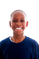 This is what a nine year old boy looks like. From istockphoto.com.