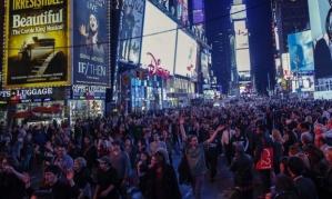 Times Square, New York City, November 24. Photo: Kena Betancur/AFP/Getty Images.