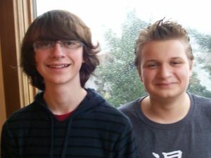 Jacob and Jonah, December 2012